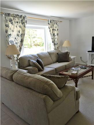 Chatham Cape Cod vacation rental - Confortable living room with flat screen TV.