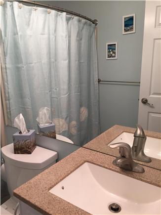 Chatham Cape Cod vacation rental - Hallway bathroom