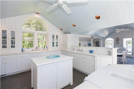 Orleans Cape Cod vacation rental - Kitchen(there is a great view of the water and a deck with Grill)