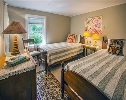 Wellfleet Cape Cod vacation rental - Third bedroom with twin beds.