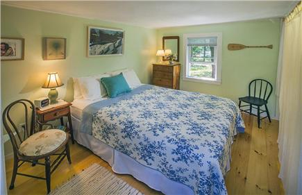 Wellfleet Cape Cod vacation rental - Master bedroom with queen bed.