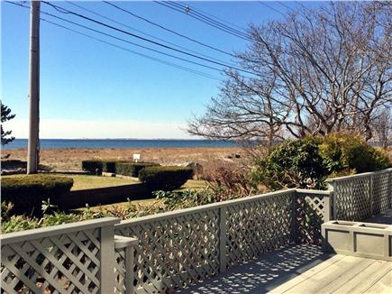 Provincetown Cape Cod vacation rental - Sun drenched deck with views of historic Provincetown Harbor