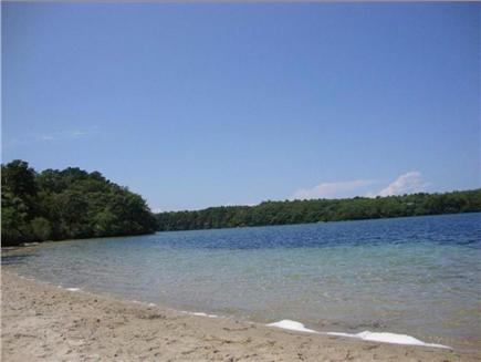 Brewster Cape Cod vacation rental - Beach at Sheep Pond just 500 yards away