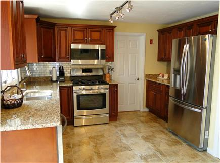 South Yarmouth Cape Cod vacation rental - Modern spacious kitchen with stainless steel appliances