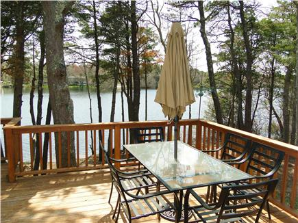 South Yarmouth Cape Cod vacation rental - Our favorite spot with water views