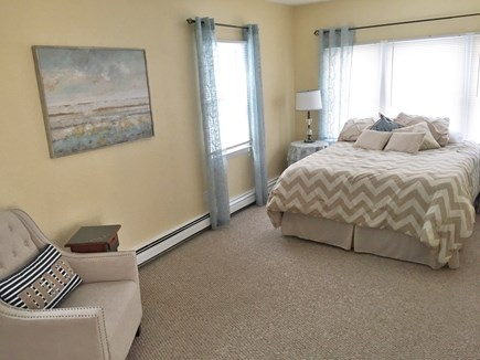 South Yarmouth Cape Cod vacation rental - Large queen master bedroom off kitchen