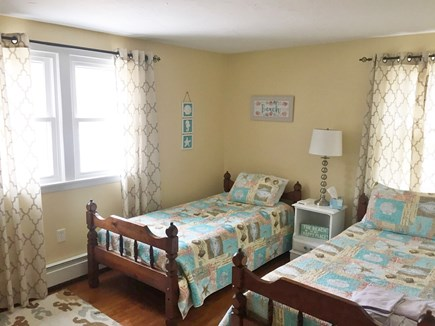 South Yarmouth Cape Cod vacation rental - Bedroom with two twins and smart TV