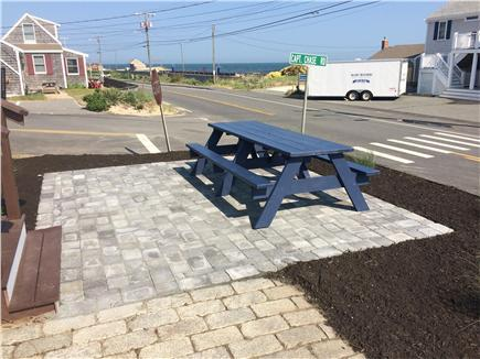 Dennis Port Cape Cod vacation rental - Ocean views from new patio and 8' picnic table