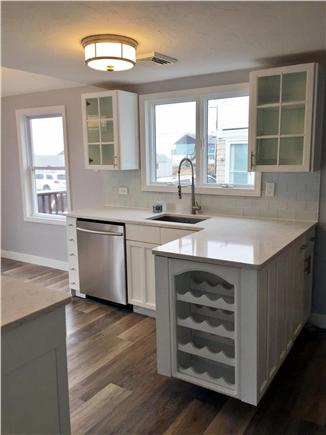 Dennis Port Cape Cod vacation rental - Fully renovated kitchen with ocean views from every window