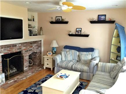 Mashpee, Popponesset Cape Cod vacation rental - Comfortable living room with flat screen TV