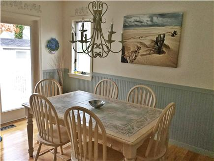 Mashpee, Popponesset Cape Cod vacation rental - Dining area