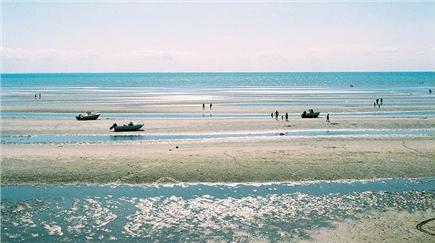 Eastham Cape Cod vacation rental - Campground Beach, Bay side, at low tide about 1.5 miles away