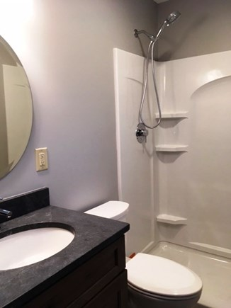 Brewster Cape Cod vacation rental - Master Bathroom with walk-in shower