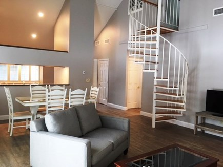 Brewster Cape Cod vacation rental - Spacious open concept with cathedral ceilings