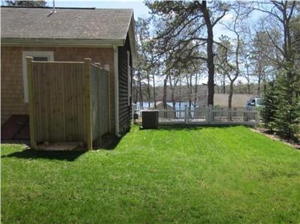 Dennis Cape Cod vacation rental - Clean outside shower w/ attached changing area