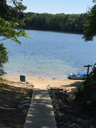 Dennis Cape Cod vacation rental - Swim in crystal clear Flax Pond