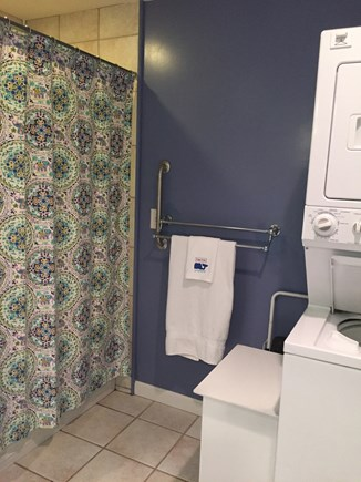 Dennis Cape Cod vacation rental - Full bathroom with tub/shower and laundry