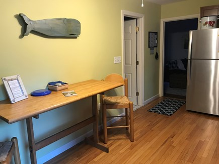Dennis Cape Cod vacation rental - Open floor kitchen and dining