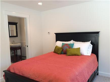Wellfleet Cape Cod vacation rental - First floor bathroom with queen bed & adjoining bathroom