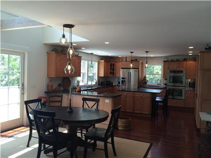 Wellfleet Cape Cod vacation rental - Dining for 6 - great room style living - 2 island counter stools