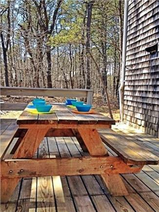 Wellfleet Cape Cod vacation rental - Picnic Table