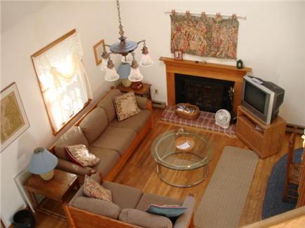 Wellfleet Cape Cod vacation rental - Loft looking down into living room