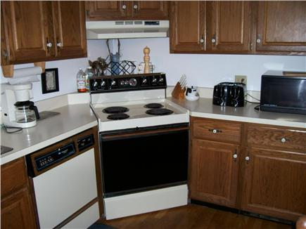 Wellfleet Cape Cod vacation rental - Kitchen open to dining and living
