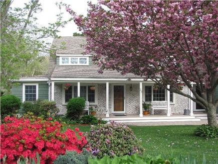 West Yarmouth Cape Cod vacation rental - Yarmouth vacation # 25964. Large front yard and farmer's porch