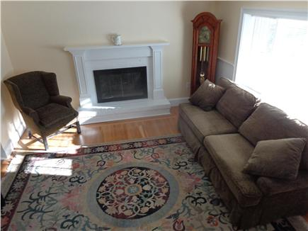 West Yarmouth Cape Cod vacation rental - Living Room with gas fireplace