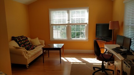 West Yarmouth Cape Cod vacation rental - Great Room with office and TV area