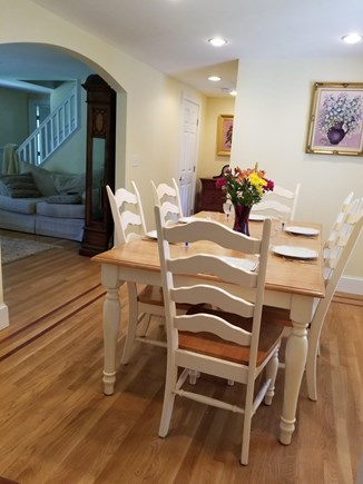 West Yarmouth Cape Cod vacation rental - Dining room with view to living room
