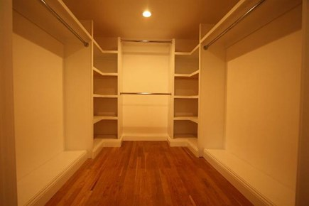 West Yarmouth Cape Cod vacation rental - Master Bedroom closet.
