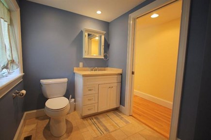 West Yarmouth Cape Cod vacation rental - Downstairs half bath and laundry