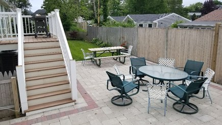 West Yarmouth Cape Cod vacation rental - Deck and patio for family barbecues