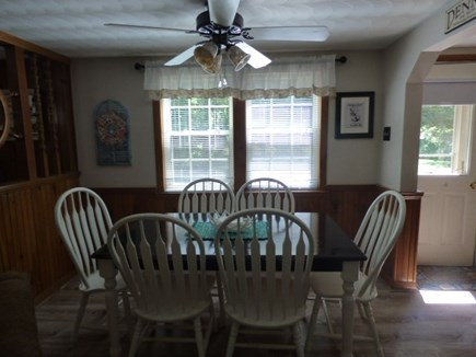 Dennis Cape Cod vacation rental - Dining area next to living room and Kitchen.