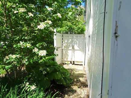 Wellfleet Cape Cod vacation rental - Partially Enclosed Outdoor Shower