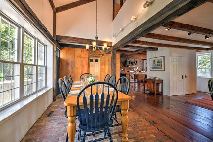 Wellfleet Cape Cod vacation rental - Dining with easy kitchen access