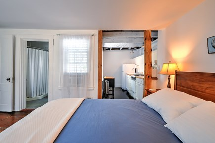 Wellfleet Cape Cod vacation rental - First Fl Bedroom With kitchen and own bathroom