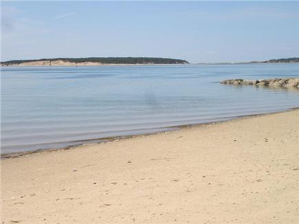 Wellfleet Cape Cod vacation rental - Indian Neck Bay Beach right up the street