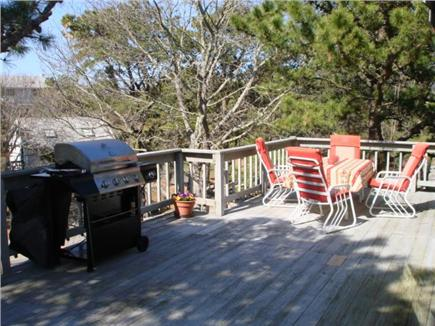 Wellfleet Cape Cod vacation rental - One of the multiple decks to grill & dine too