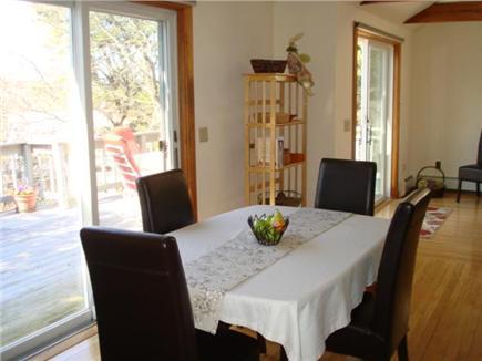 Wellfleet Cape Cod vacation rental - Dine inside too, appetizers anyone?