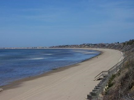 Truro Cape Cod vacation rental - Bay Beach at end of street via stairs