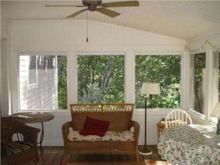 Truro Cape Cod vacation rental - Porch off of dining room
