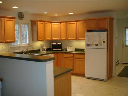 Truro Cape Cod vacation rental - Kitchen open to dining area