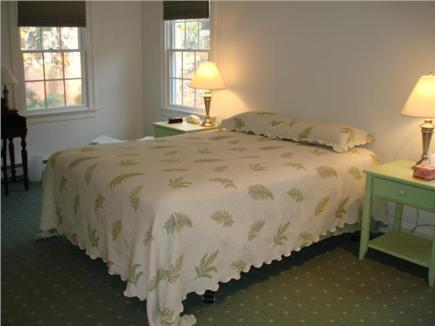 Truro Cape Cod vacation rental - Main bedroom on entry level with private bath