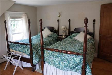 East Orleans Cape Cod vacation rental - First bedroom with twin beds.
