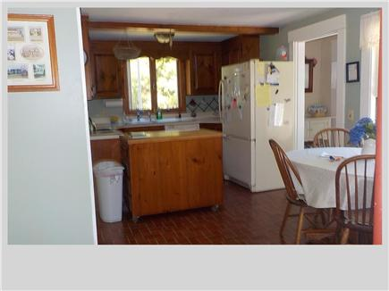 East Orleans Cape Cod vacation rental - Kitchen with eat in area.