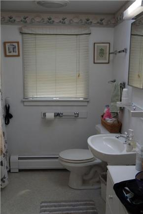 East Orleans Cape Cod vacation rental - Downstairs bath with shower and laundry.