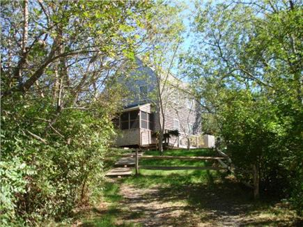 Truro Cape Cod vacation rental - House as set back from the street