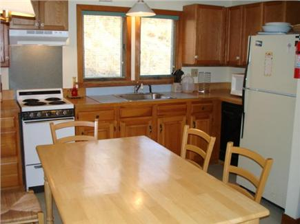 Truro Cape Cod vacation rental - Eat-in kitchen. Who is cooking?Breakast, anyone?